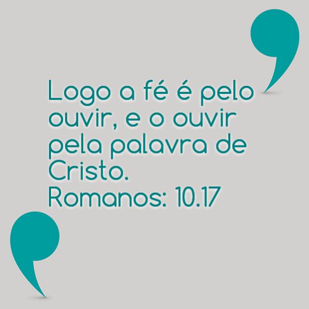 Resultado de imagem para ROMANOS 10.7