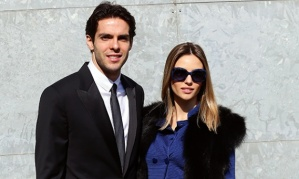 Kaká e Carol Celico Foto: Getty Images