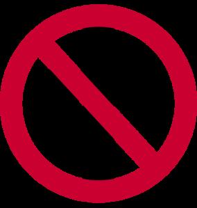 proibido cruz
