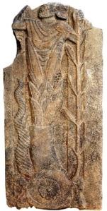 Imagem em basalto de Baal