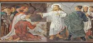 Hitler ao lado de Jesus