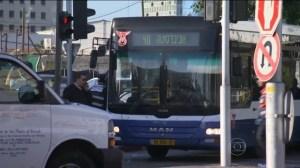 palestino esfaqueia 12 pessoas dentro de ônibus em Israel