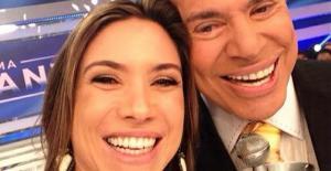 Silvio Santos e Patrícia Abravanel (Reprodução/Instagram)